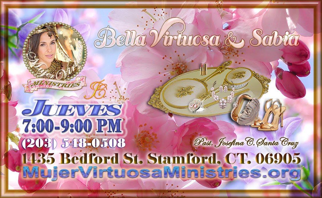 Mujer Virtuosa reunion de amigas Bella Virtuosa & Sabia, Stamford CT
