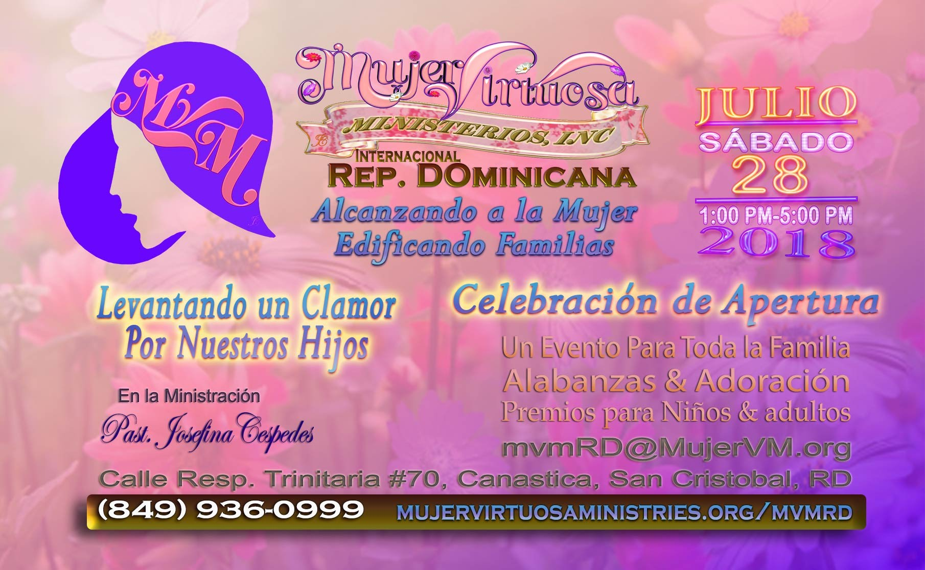 Mujer Virtuosa Rep. Dominicana Apertura