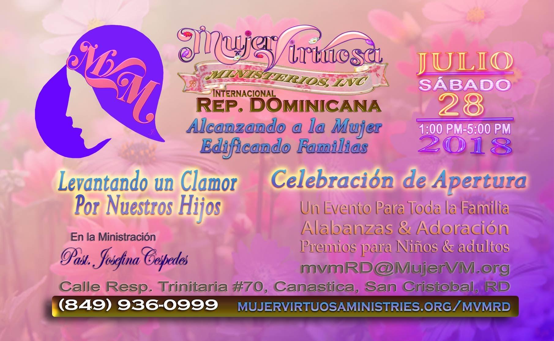 Mujer Virtuosa Republica Dominicana Apertura